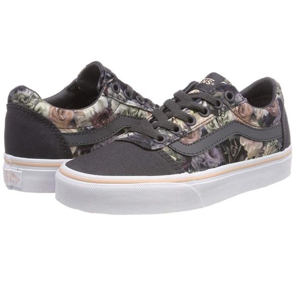 c3a8e07cd Vans Shoes | Ward Satin Floral Rose Cloud | Poshmark